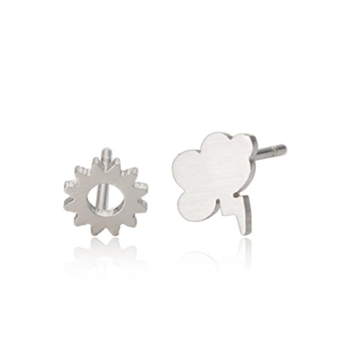 aoloshow-sun-and-cloud-with-lighting-cute-weather-stud-earrings
