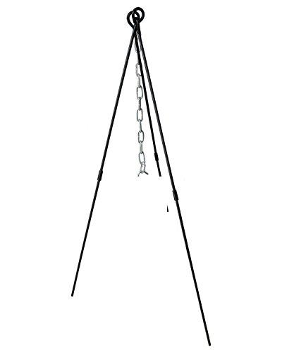 CAST IRON - Premium Quality - Stativ - Tripod für Dutch-Oven aus Gusseisen - Gestell für den Topf 130 cm x 68 cm