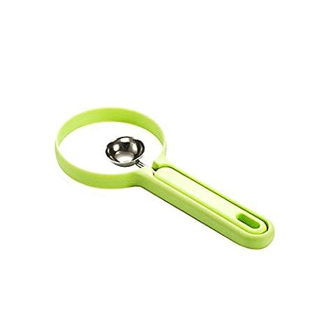 2Pcs / Set Melon Spoon Fruit Peeler Gadget domestique Outils de cuisine Peeling + Fruit Dig Kitchen Outils pratiques Couleur aléatoire