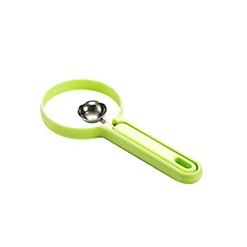 Luwu-Store 2Pcs / Set Melon Spoon Fruit Peeler Gadget Domestique Outils de Cuisine Peeling + Fruit Dig Kitchen Outils Pratiques Couleur aléatoire
