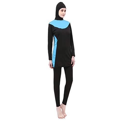 Yudesun Ropa Musulmán Traje de Baño - Mujer Tankinis Deportes Acuáticos Islam Deportes Bañador Conservador...