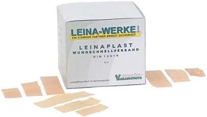 Leina Werke REF 70151 Leinaplast Wundschnellverband-NW, 100 x 6cm