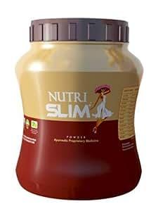 Nutrislim Powder 500 (FREE 50gm EXTRA) gm & Nutrislim Cap 60 Cap Combo Pack_ Chocolate Flavour