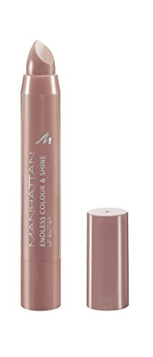 Manhattan Endless Colour & Shine Lip Butter - Lippenstift mit langanhaltendem Farbglanz in Rosa - Farbe Taupe Of My List 300 - 1 x 3g