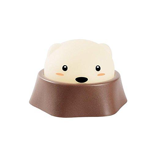 JKL Nachtlicht USB Lade Nacht Nacht LED Nachtlicht Baby Fütterung Mini Schlafzimmer Kinderzimmer Dekoration Tischlampe 141 * 74 MM