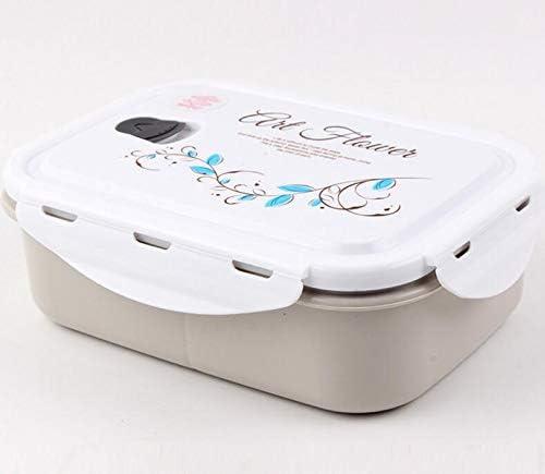 Mode mignon Boite à Lunch Rectangulaire En Plastique Pour CompartiHommes ts (Gris) B07L7MHB87 | Nous Avons Gagné Les éloges De Clients
