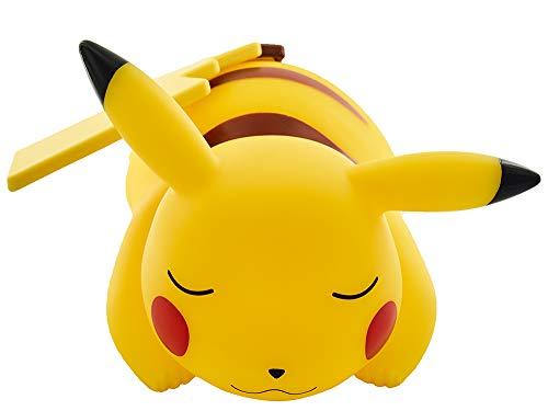 Teknofun Pokémon - Lámpara LED, diseño Pikachu Dormido (25 cm) Color Amarillo