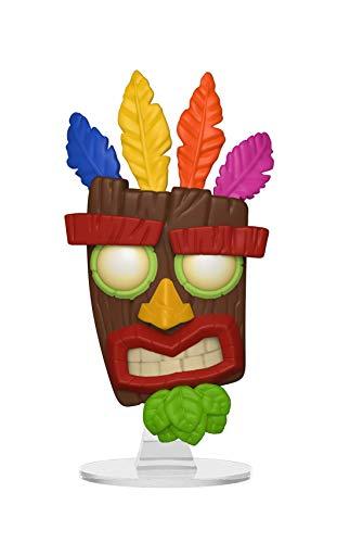 Funko 33915 Pop! Vinilo: Juegos: Crash Bandicoot Aku, Multi