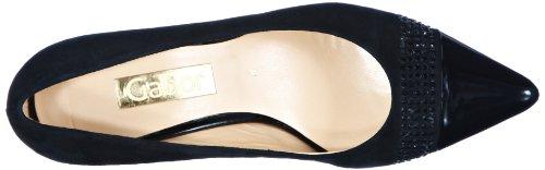 Gabor - Gabor, Scarpe col tacco Donna Nero (Schwarz (schwarz (LFS rot)))