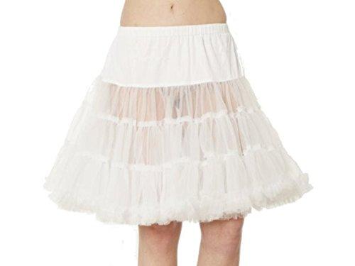 Krüger Damen Petticoat Weiß