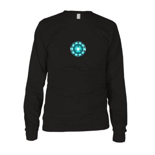 Planet Nerd - Arc Reactor - Langarm T-Shirt, Herren, Größe XL, (Shirt Iron Kostüme Man)