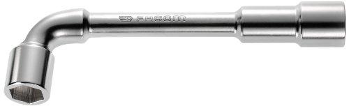 Facom SC.75 - Chiave a pipa doppia esagonale Esagonale 19 mm Rosso/Nero