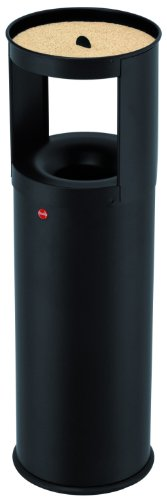 hailo-combined-waste-bin-and-ashtray-profiline-care-25l-black