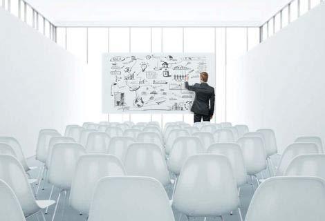 KaRoFoilFIX© Selbstklebende PVC-freie Whiteboard Folie Schreibtafel l wiederverwendbar trocken abwaschbar l weiß 60x100cm l Präsentationstafel l Flipchart - Weisswandtafel