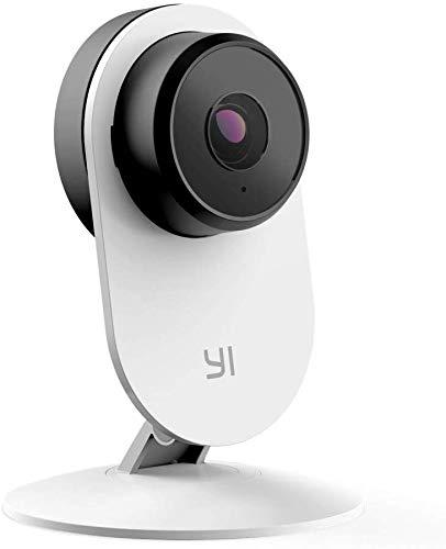 YI Überwachungskamera Home IP Kamera 3 1080P Full HD mit Künstlicher Intelligenz Haustier Monitor, Nachtsicht Bewegungsmelder, Personenerkennung, Audio-Analyse, App für Smartphone/PC