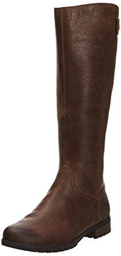 Rockport - Tristina Quilt Tall, Stivale da donna Marrone (Marron (Potting Soil))