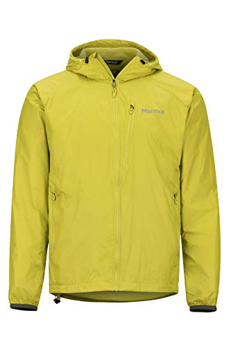 Marmot Ether Driclime Hoody, Windstopper, Chaqueta De Running, Cortaviento Y Transpirable, Hombre, Citronelle...