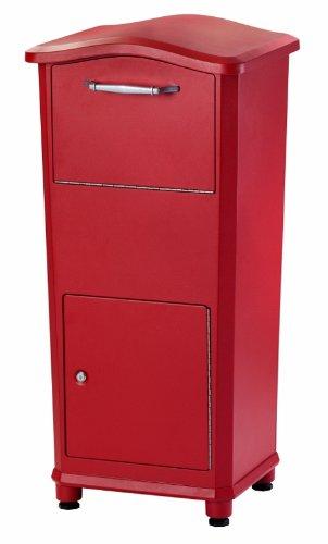 elephantrunk Paket Drop Box, schwarz/weiß/rot