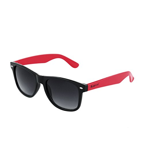 Dusseldorf Uv Protected Men & Women Classic Style Wayfarer Sunglasses Frame Material:-Plastic Lens Material:-Plastic Temple Material:-Plastic Non-Polarized (HUN-0301)