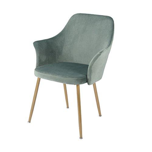DORAFAIR Sillas Comedor Soft Retro Velvet Cushion