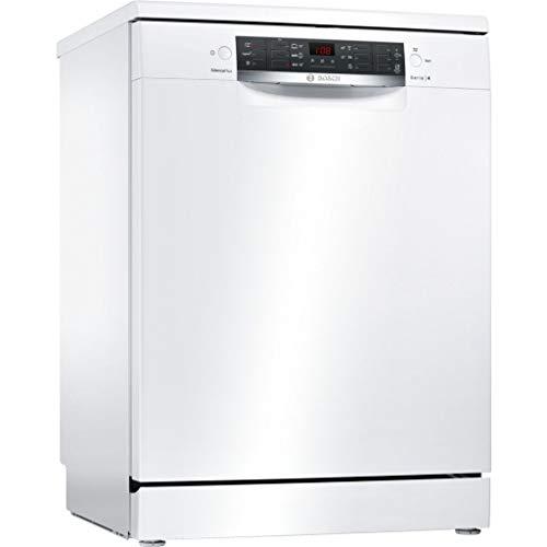 Bosch Serie 4 SMS46MW08E lavavajilla Independiente 14 cubiertos A++ - Lavavajillas (Independiente, Tamaño completo (60 cm), Blanco, Blanco, Botones, 1,75 m)