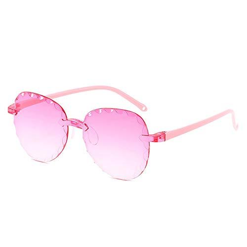 Wang-RX Kind runde form sonnenbrille frauen mode junge mädchen schöne bunte klare brillen cat eye rahmen sonnenbrille