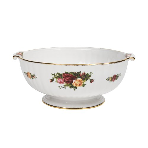 Royal Albert Old Country Roses 9-inch Fluted Serving Bowl by Royal Albert Fluted Bowl