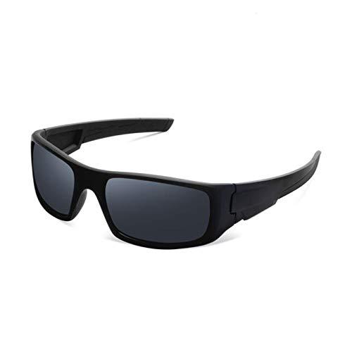 ZKAMUYLC SonnenbrilleUV400 Sonnenbrille Objektiv aus unzerbrechlichem PC-Material Radfahren Fahren Fahren Sicherheit Unisex Brille Outdoor Sports Eyewear #S