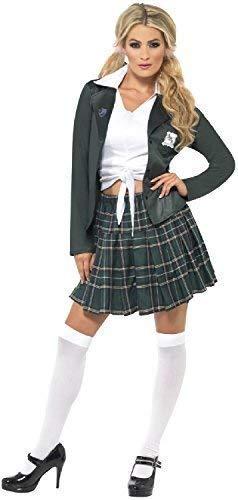Spears Kostüm Britney - Fancy Me Damen 90s Jahre 1990s Pop Video Schulmädchen One More Time Henne Do Nacht Party Spaß Kostüm Kleid Outfit - UK 8-10