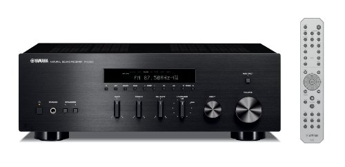 Yamaha R-S300 Stereo Receiver (Apple iPhone/iPod/Bluetooth kompatibel, 2x 55 Watt) schwarz