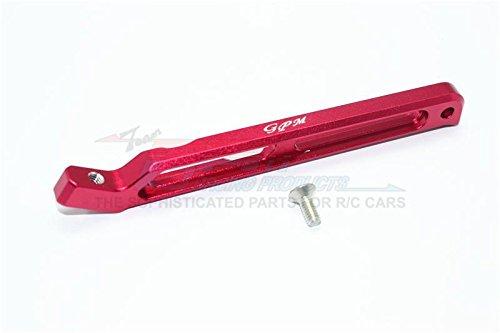 G.P.M. Arrma SENTON/TYPHON/OUTCAST 6S BLX Aluminum Rear Chassis Link - 1Pc Set Red
