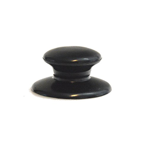 Universal Replacement Replacement Lid Glass Pot Lid Handle Knob Black/–Fits Many Brands Glass Lid, Plastic, 1