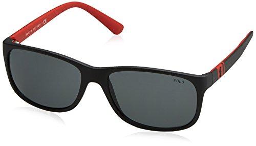 Polo Ralph Lauren Herren 0Ph4109 524787 59 Sonnenbrille, Schwarz (Black/Grey)