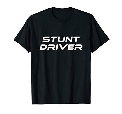 Stunt Driver Race Car Lazy Halloween Kostüm Lustig T-Shirt (Race Car Driver Kostüm Kind)