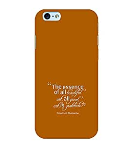 Fiobs Designer Back Case Cover for Apple iPhone 6 Plus :: Apple iPhone 6+ (One Day Love Important Person)