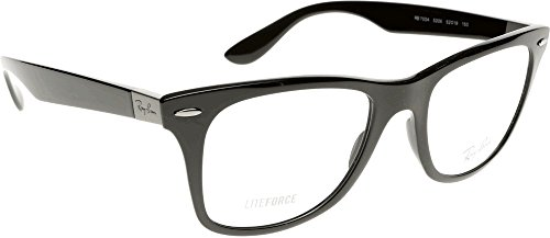 Ray Ban Optical Für Mann Rx7034 Black Kunststoffgestell Brillen, 52mm