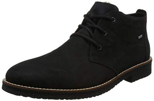 Rieker Herren 13630 Desert Boots, Schwarz (Schwarz 00), 42 EU