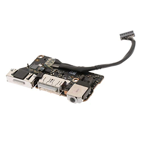 Dc Power Jack Board (perfk Haltbar DC Power Jack Board Laptop Ladegerät Ersatzteile für MacBook Air, aus Kunststoff)