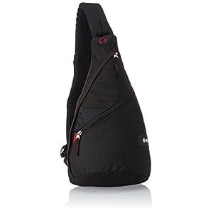 Wenger SA18302130 – Bolso Bandolera (12 L), Color Negro
