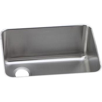 Elkay ELUH231712L 18 Gauge Stainless Steel 25 x 18.75 x 12 Single Bowl Undermount Kitchen Sink by Elkay