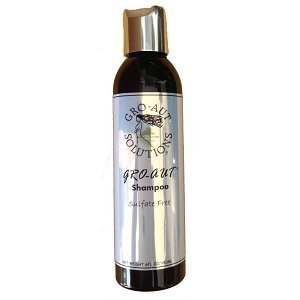 Gro-aut Sulphate Free Shampoo 8oz for Healthy Thicker Hair 240ml by Gro-aut solutions LLC