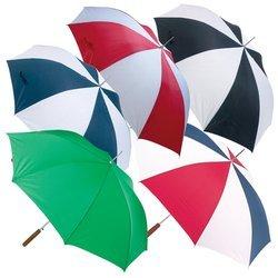 Allwetter gfum48bk schwarz/weiß Regenschirm, 121,9cm