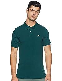 Amazon Brand - House & Shields Men's Regular Fit Cotton Polo T-Shirt