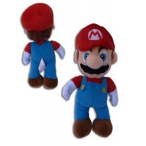 Super Mario Bros: Muñeco Peluche Mario 23cm Videojuego Nintendo Alta