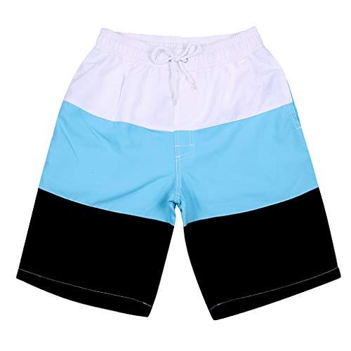 Eaylis-herren-shorts Sommer Mode Paar MäNner Und Frauen PersöNlichkeit Streifen Gemalt Casual Print Surf Beach Shorts
