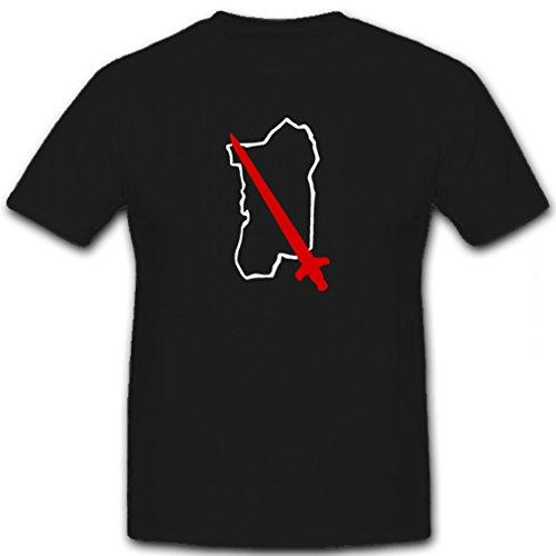 90. leichte Afrika Division WK 2 WW II Abzeichen Wappen- T Shirt Herren dunkelblau #12393 (2 Ww-design)