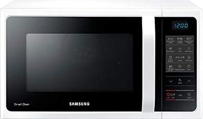 Samsung MW5000H MC2BH5013AW/EG - Microondas combinado con grill y aire caliente (900 W, 28 L, 51,7 cm de ancho, 35 programas automáticos), color blanco
