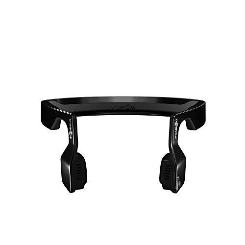 Aftershokz Bluez 2 Bone Conduction Cuffie Audio Bluetooth a Conduzione Ossea per Attività Sportiva con Microfono, Nero