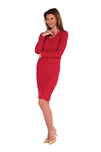 Que Sera TBT dell'abito Paris taglia unica Crimson