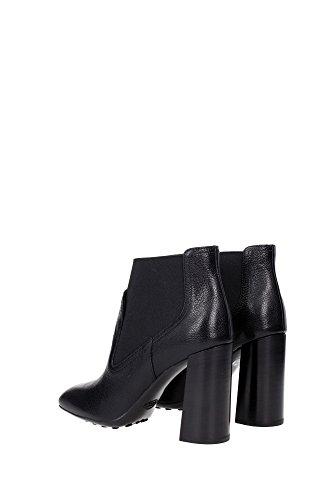 XXW0ZL0Q780E9SB999 Tod's Chaussure mi montantes Femme Cuir Noir Noir